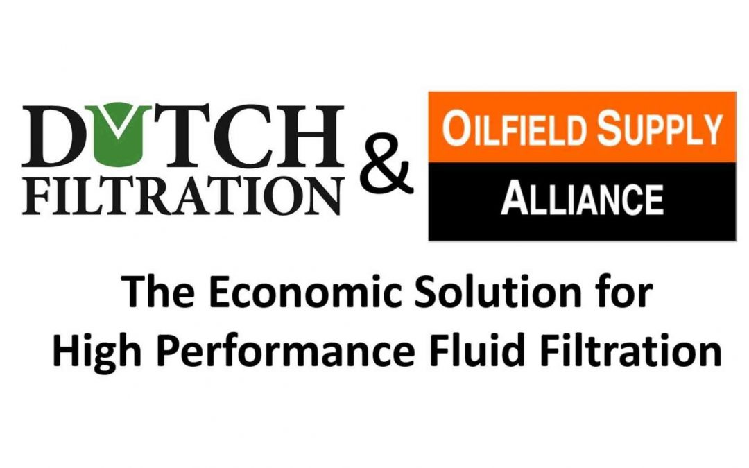 Dutch Filtration & Oilfield Supply Alliance have combined their knowledge and forces