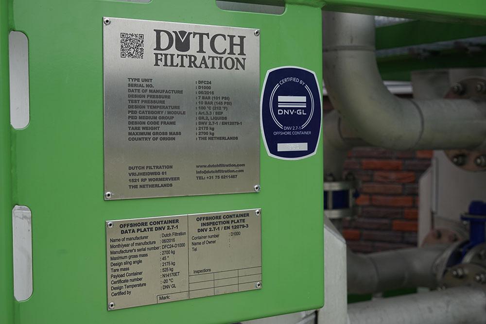 Volledige consideratie voor filtratie van gevaarlijke vloeistoffen.