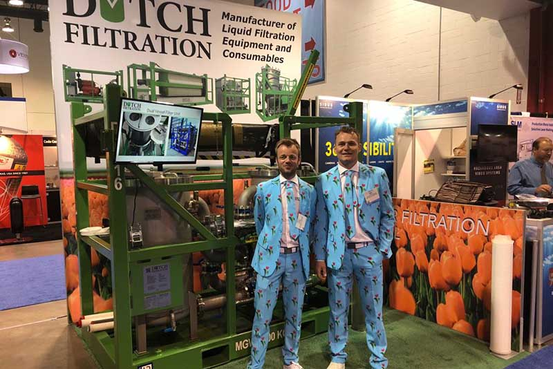 Dutch Filtration attends OTC Houston 2018