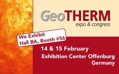 Dutch Filtration will attend GeoTHERM Offenburg