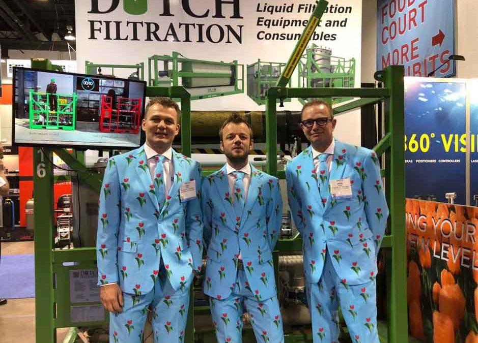 Dutch Filtration at OTC Houston 2019