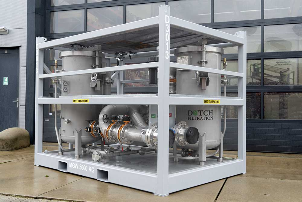 High Pressure Dual Vessel Combi Filter Unit