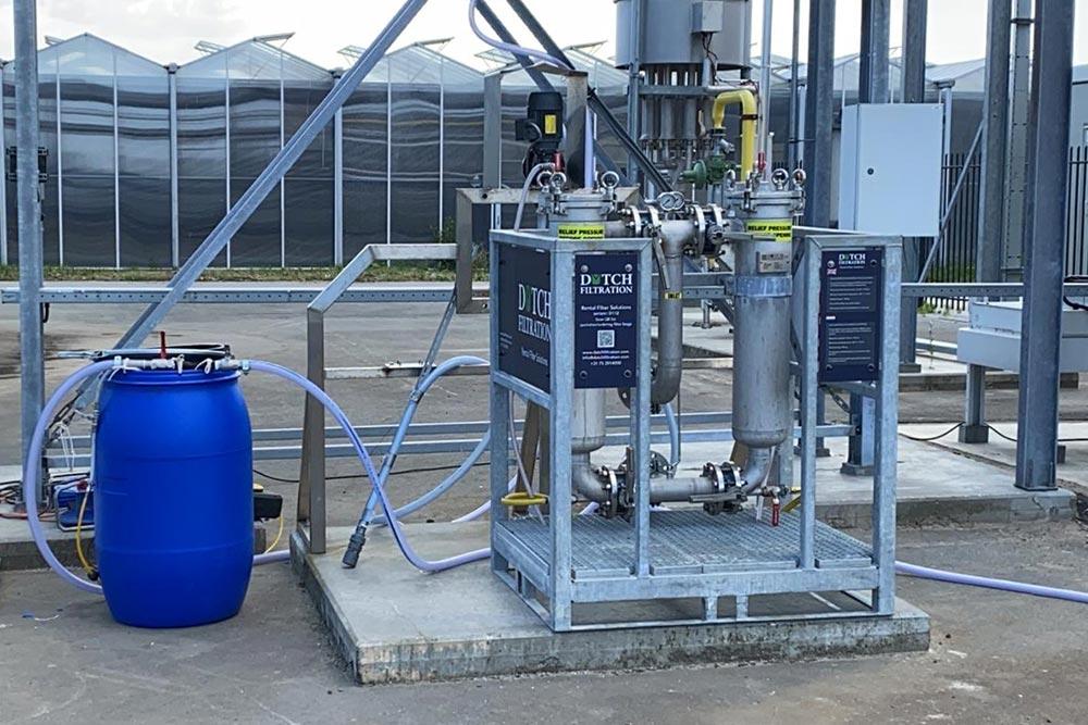 verhuur filterequipment