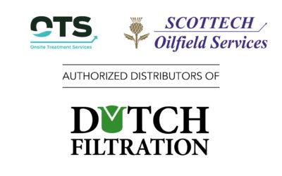 OTS en Scottech zijn geautoriseerde distributeurs geworden voor Dutch Filtration in Noorwegen en Australië.